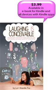 Cover for the book Laughing IS Conceivable